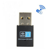Wholesale Hot Mbps Wireless network Card Mini USB Router wifi n g b WI FI LAN Internet Adapter for computer Android TV Box