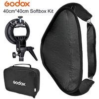 beauty dish bowens - GODOX Fold Portable Photo Studio Softbox Diffuser x cm with S Type Bowens mount Bag Kit for Flash Speedlite Beauty Dish
