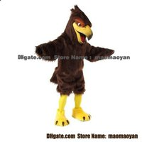 Wholesale Hawk or Falcon Mascot Costumes Cartoon Character Adult Sz Real Picture2
