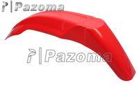 Wholesale PAZOMA Red Universal Plastic Motorcross Front Fender Mudguard Suitable For Suzuki DRZ Supermoto