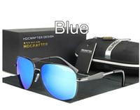 Gafas de sol polarizadas de la marca de fábrica del patrón para las mujeres / los hombres Pilot que modela la capa antirreflectante del mercurio del marco de la aleación que diseñan los vidrios solares E019 de la pesca
