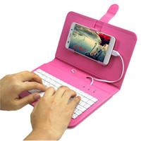 Teclado casos pie de apoyo del caso del tirón del cuero de la PU con el sostenedor del soporte cubre teclado del ordenador portátil para el iphone Samsung 6s s7 s6 SE 6 plus