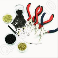 Wholesale Professional Hair Extension Pliers Hair Extension Tools Straight And Curved Pliers Hair Removal Pliers CCA4680