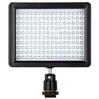Led lumières caméra vidéo Avis-W160 Lampe de lumière vidéo LED 12W 1280LM 5600K 3200K Dimmable pour Canon Nikon Pentax DSLR Camera D848