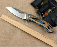 Wholesale military tactical hunting knives outdoor rescue camping survival pocket knifes US army utility folding knife canivetes