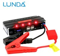 Wholesale LUNDA High power USB A Output Multi function Portable Rechargeable Charger V Car Battery Jump Starter Booster