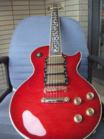best of guitar - Custom Shop HOT best quality The tree of life set inlay keyboard SUPREME red burst Electric guitar
