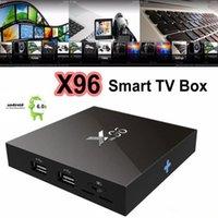Wholesale Latest X96 Amlogic S905X Quad Core Android G G KODI K Smart Android Tv box PK S912 T95X
