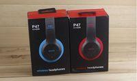 bass head - Beats Earphones Stereo Bluetooth P47 EDR Wireless Headphones Bass Over Head Headsets For Samsung S7 Note iphone Plus