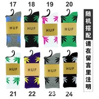 adult knitted slippers - Maple Leaf Adult Socks Autumn leaves Printed Fashion woman sock Europe Style Fall Spring Men Causal sports socks W045