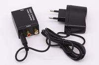 Arrivée réel adaptateur S-vidéo Sata Usb sans port numérique optique Coaxial Pour Analog Rca L / r pour Audio Converter + câble Od 5.0