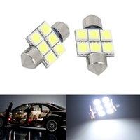 Wholesale 1pcs CAR White LED quot mm SMD DE3022 Wedge Interior Dome Light DIY
