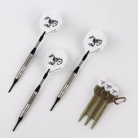 Wholesale Safe Tunsgen Steel Tip Darts with White Scorpions Dart Flights and Environmentally Material Box for Electronic Dart Target