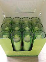Wholesale 120PCS HengFang Natural Fruity Magic Green Lipstick Waterproof Mood Lipstick Moisturizing Color Changing Lip Stick EMS DHL