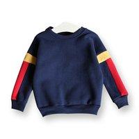 Wholesale kids clothes boys Fall long sleeve single layer wool fleece upper garment children shirts top quality