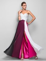 Wholesale Cheap Womens Party Clothes - Fashion color matching strapless evening dresses formal dresses evening womens clothing cheap prom dresses party dresses1402#
