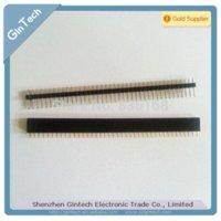 Wholesale 20pair x40 Pin mm single strip Pin Header connector male female single row pin header