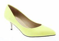 best ladies footwear - 2016 Fashion Women Dress Wedding elegent cotton best buying Footwear lady stiletto low ladies office Pumps PU Pointed high heeled shoes