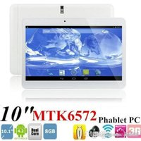 10 Inch 3g Dual Core Tablet Mtk6572 3g Android 4.4 1g Ram 8g Rom Construit dans la 3G Sim Card slot Bluetooth Phone Call Tablet PB10-G3