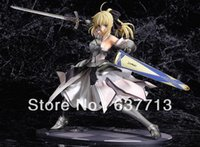 avalon movie - 1 Fate Stay Night Saber Lily Avalon Painted PVC Figure B New in Box Toy retail