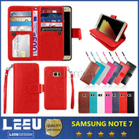 photo frame stand - galaxy Note Wallet Case PU leather cases with photo frame slot credit card pocket for iphone plus cell phone case with stand