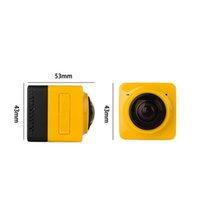 2016 Nueva cámara colorida HD720P de la acción del deporte del CUBO 360 360 grados VR panorámico Construir-en la mini vida ultra del recorrido de WiFi