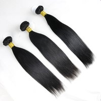 Wholesale 6A Grade High Quality Nature Color Straight Type Human Remy Hair Wefts