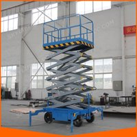 Wholesale Heavy Duty Mobile Building Cleaning Lift Office Building Maintenance Scissor Lift