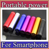 Moda del lápiz labial de aluminio 2600 mAh banco portable de la batería de reserva externa del USB cargador de móvil Fuente de alimentación móvil A-YD