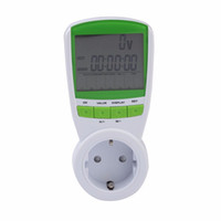 Wholesale New V HZ Digital Energy Meter Watt Voltage Volt Meter Hertz Power Analyzer Factor EU