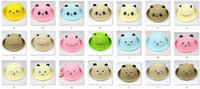 baby chicks sale - Hot Sale Baby Cap year Children Fedoras Bear Chick Character Boy s Straw Hat Beret pc
