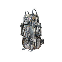 Polyester army camping bag backpack - 1pcs L bionic camouflage bag tactical army military backpack Molle travel Outdoor Sports Camping Hiking shoulder bag