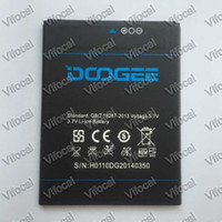 Wholesale atteries Mobile Phone Batteries DOOGEE DG2014 Battery In Stock Original Mah Replacement Backup Battery For DOOGEE TURBO Mobile P
