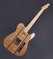 Wholesale TELE Electric guitar elm wood nature color