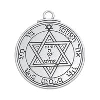 Wholesale TALISMAN of MARS Magic Solomon Seal Amulet Pentacle Protection Pendant