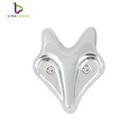 Alloy angels wristbands - 10PCS MM quot Animal quot Slide Charm DIY accessory Fit mm Wristband Belt Pet Collar styles colors can choose LSSC303