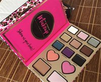 bar of chocolate - 2016 NEW Eyeshadow Palette Too Make Up for faced matte THE POWER OF MAKEUP eyeshadow best matte eye shadows glitter VS chocolate Peach Bar