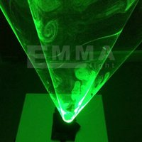 Wholesale HOT SALE Lasers auto rotating green laser gloves show light vortex laser for DJ dance party supplies