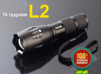 Wholesale E17 CREE XM L2 LM tactical cree led Torch Zoom cree LED Flashlight Torch light For xAAA or x rechargeable