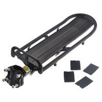 aluminum roof installation - Extendable Aluminum Alloy Bike Bicycle Rear Seat Post Rack Carrier Easy Installation and Removal