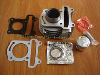 atv piston - Scooter Moped ATV QMB GY6 cc stroke mm cylinder set kit Cylinder Piston set Piston rings Gaskets