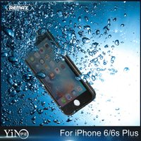 apple journey - REMAX Journey I6 S Waterproof Shockproof Case with fingerprint For Apple iphone S Plus Transparent Crystal Clear Hard Cover