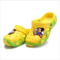 Wholesale summer children shoes girls boys slippers cute cartoon comfortable fashion kids slippers anti slip girls slippers beach shoes
