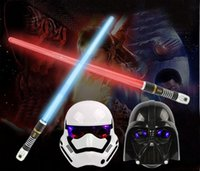 Wholesale 33Inch Foldable Star Wars laser sword with Sound and Light classic Star Wars lightsaber toy for kid Jedi scalable weapons gift