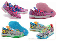 kids kevin durant shoes - What The KD VI Aunt Pearl Mens Basketball Shoes kd6 kevin durant sneakers Kids Shoes size