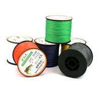 Wholesale 500 Meters Dyneema Braided Fishing Line PE Line Encoding color Multi standard Anti Bite Fishing Line Kite Line Super Toughness