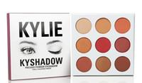 Wholesale kyshadow burgundy palette Kylie Cosmetics Bronze eyeshadow magic eye card palette makeup eyeshadow palettes Eyeshadow palette high quality