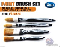 Wholesale SEDY PC Natural Bristles Synthetic Filament Paint Stain Brush Set hand tool