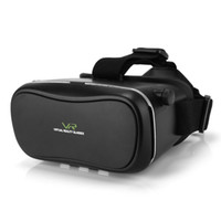 Wholesale DHL Virtual Reality D VR Glasses Google Cardboard D VR BOX Adjustable for quot to quot Smartphone VR03HF