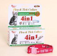 Wholesale Safety Pet Cat in Anti Fleas Ticks Flea eggs Mosquitoes Collars Necklace Necklet Leash Killer Repeller CLA001